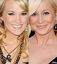 Kellie Pickler And Carrie Underwood Kellie Pickler Takes Carrie