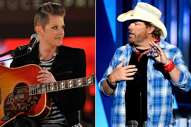 Natalie Maines Toby Keith