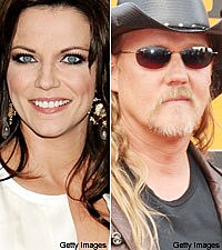 Matina McBride and Trace Adkins