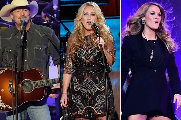 Carrie Underwood, Lee Ann Womack, Alan Jackson