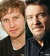 Dierks Bentley and Waylon Jennings