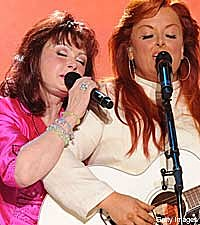 Naomi Judd and Wynonna Judd
