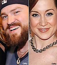 Zac Brown and Kellie Pickler