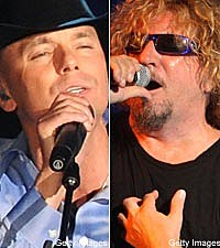 Kenny Chesney, Sammy Hagar