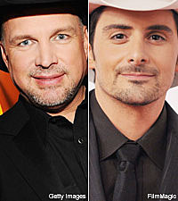 Garth Brooks and Brad Paisley