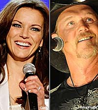 Martina McBride and Trace Adkins
