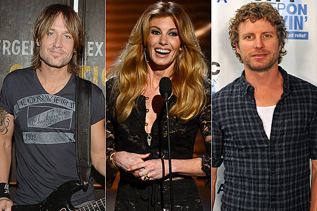 Keith Urban Faith Hill Dierks Bentley