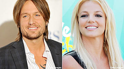 Keith Urban and Britney Spears