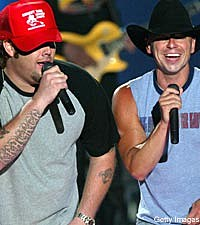 Uncle Kracker and Kenny Chesney