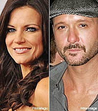 Martina McBride and Tim McGraw