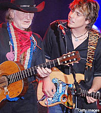 Willie Nelson and Lukas
