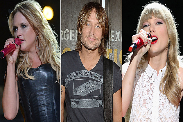 Miranda Lambert Keith Urban Taylor Swift
