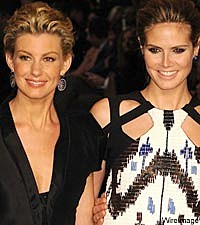 Faith Hill, Heidi Klum