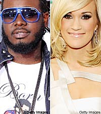 T-Pain and Carrie Underwood