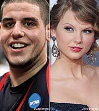 Omar Samhan, Taylor Swift