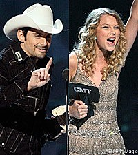 Brad Paisley, Taylor Swift