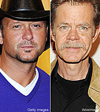 Tim McGraw, William H. Macy