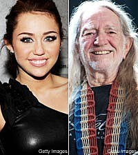 Miley Cyrus, Willie Nelson