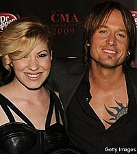 Emily West, Keith Urban