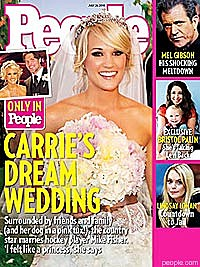 Carrie Underwood, People magazine