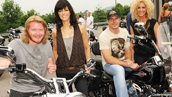 Little Big Town Gas Up Their Harleys For A Good Cause