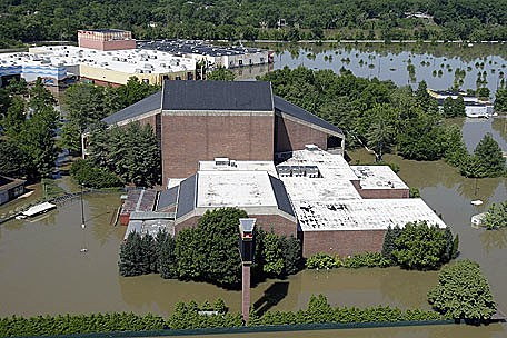 The Grand Ole Opry in Nashville after the flood
