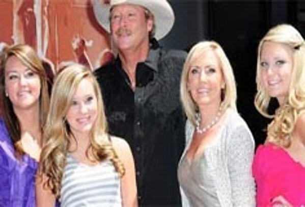 Alan jackson s daughters alan jackson inspired by daughters