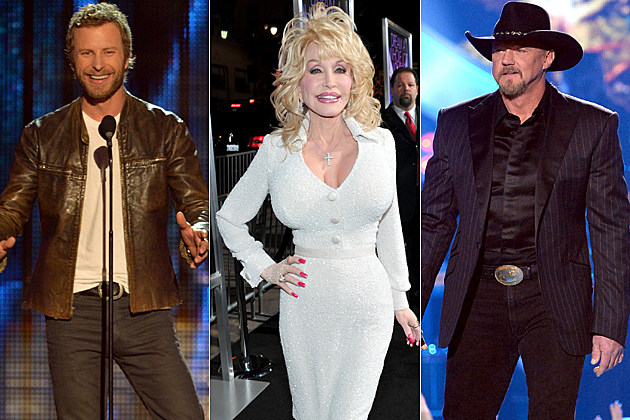 Dierks Bentley Dolly Parton Trace Adkins
