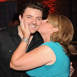 Chris Young and Mom