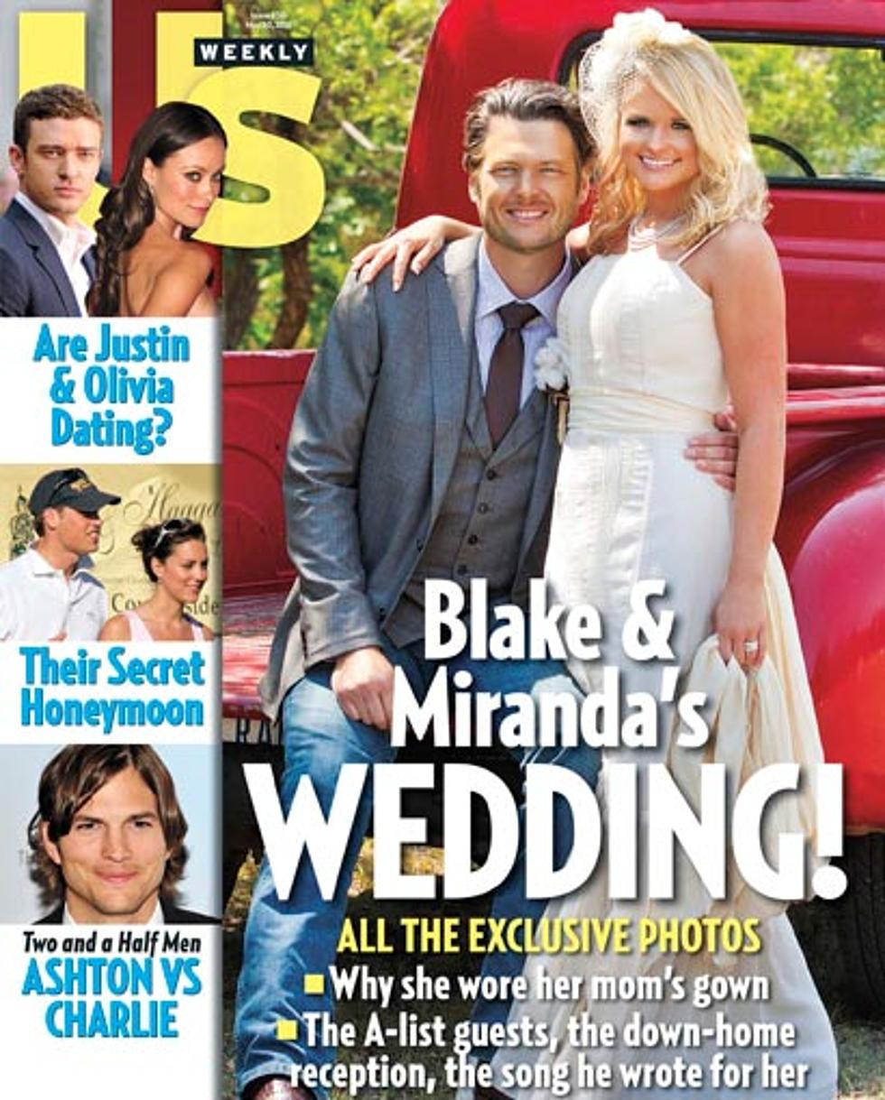 Miranda Lambert, Blake Shelton Wedding Picture Revealed!