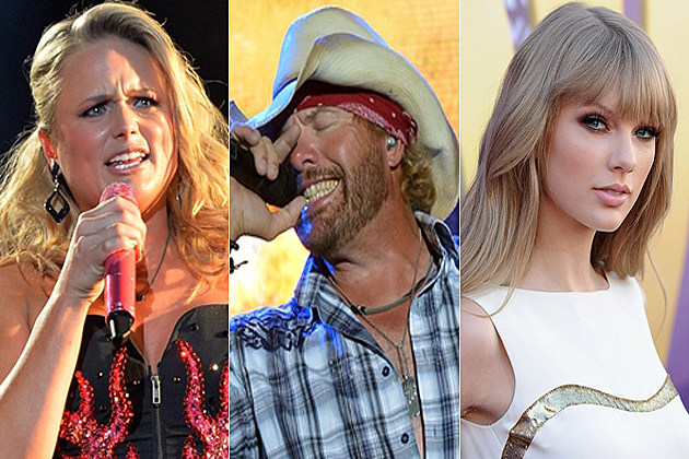 Miranda Lambert Toby Keith Taylor Swift