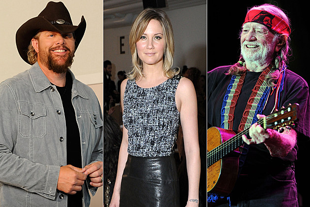 Toby Keith Jennifer Nettles Willie Nelson