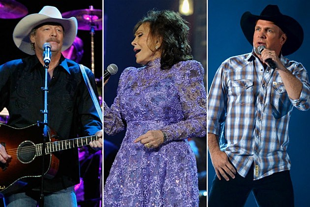 Alan Jackson Loretta Lynn Garth Brooks