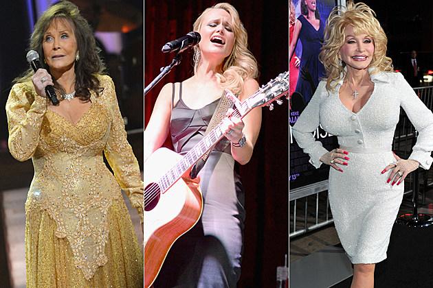 Loretta Lynn Miranda Lambert Dolly Parton