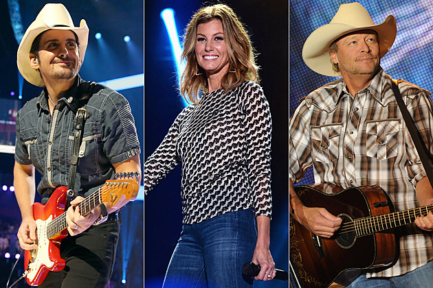 Brad Paisley Faith Hill Alan Jackson