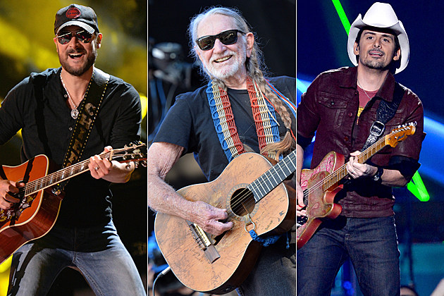 Eric Church Willie Nelson Brad Paisley