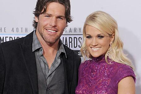 Carrie Underwood couple