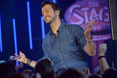 Watch Luke Bryan Perform 'Crash My Party' Outside the CMT Music
