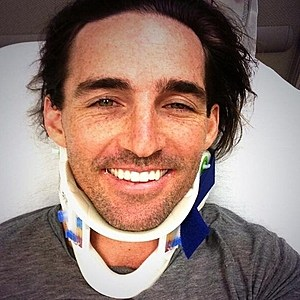 Jake Owen Neck Brace
