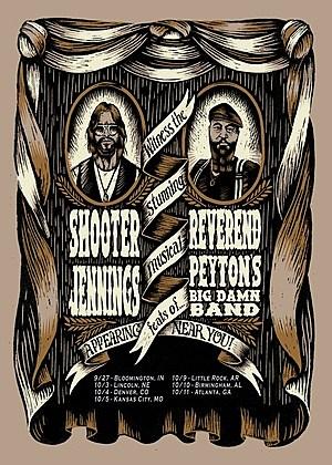 Jennings Peyton Tour Poster