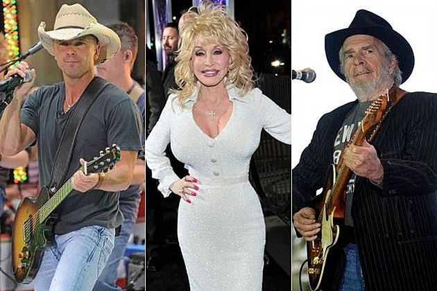 Kenny Chesney Dolly Parton Merle Haggard