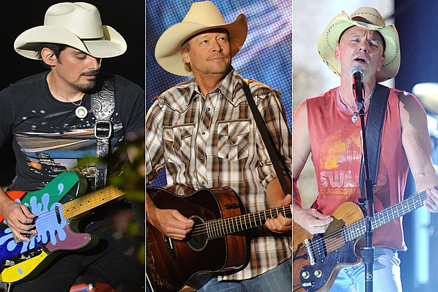 Brad Paisley Alan Jackson Kenny Chesney