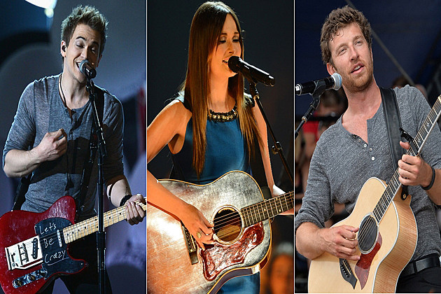 Hunter Hayes Kacey Musgraves Brett Eldredge