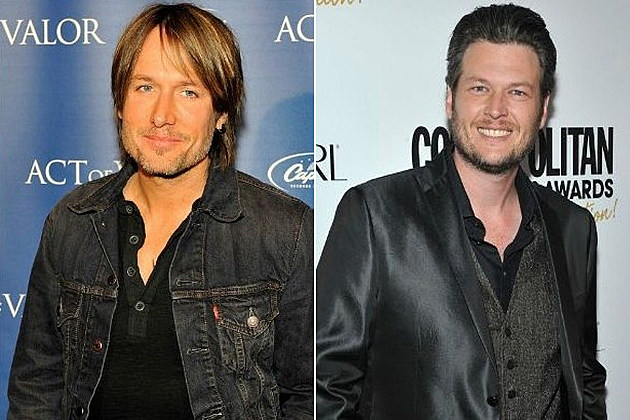 Keith Urban Blake Shelton