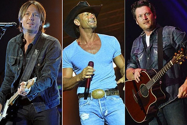 Keith Urban Tim McGraw Blake Shelton