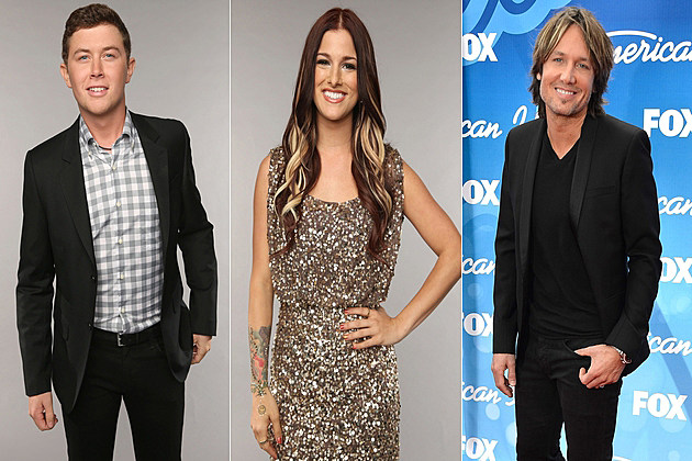 Scotty McCreery Cassadee Pope Keith Urban