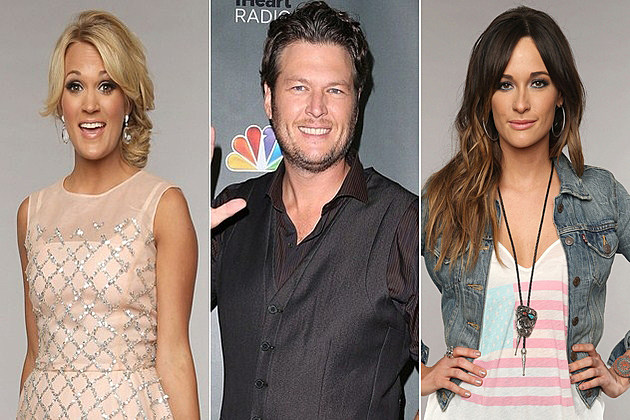 Carrie Underwood Blake Shelton Kacey Musgraves