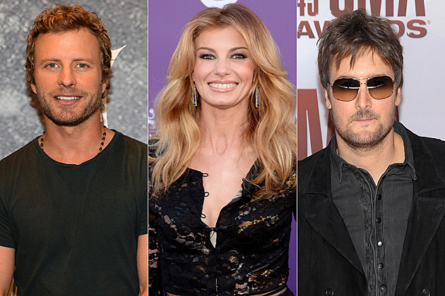 Dierks Bentley Faith Hill Eric Church