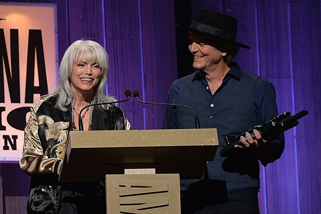 Emmylou Harris Rodney Crowell Americana Honors and Awards 2013