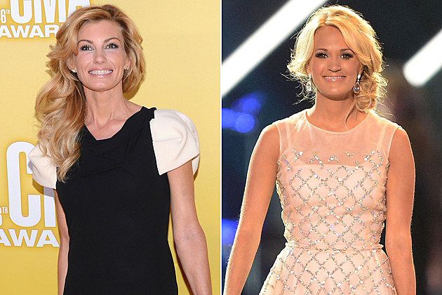 Faith Hill Carrie Underwood
